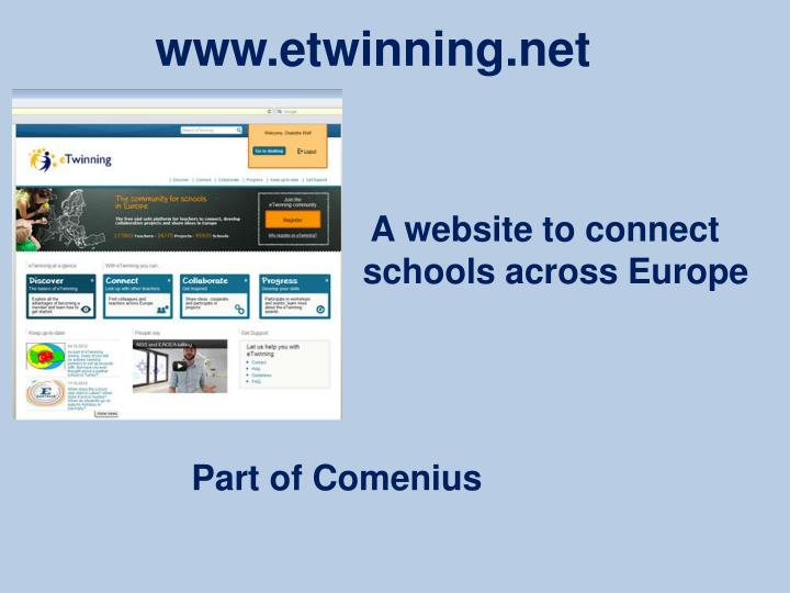 A website to connect schools across Europe