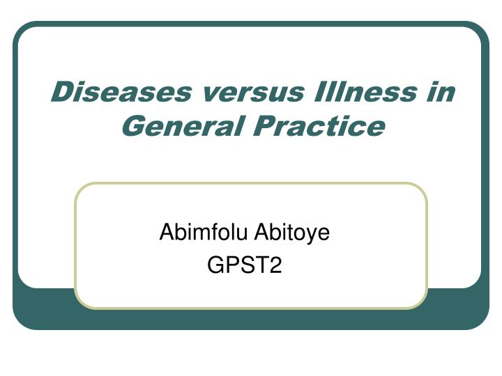 disease vs illness In normal conversation, illness, disease and sickness are interchanged a great deal however, there is actually some specific difference.