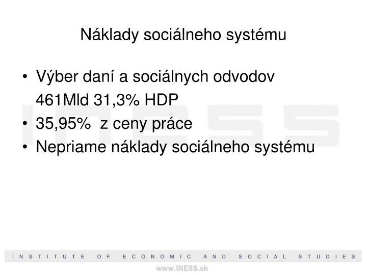 Náklady sociálneho systému