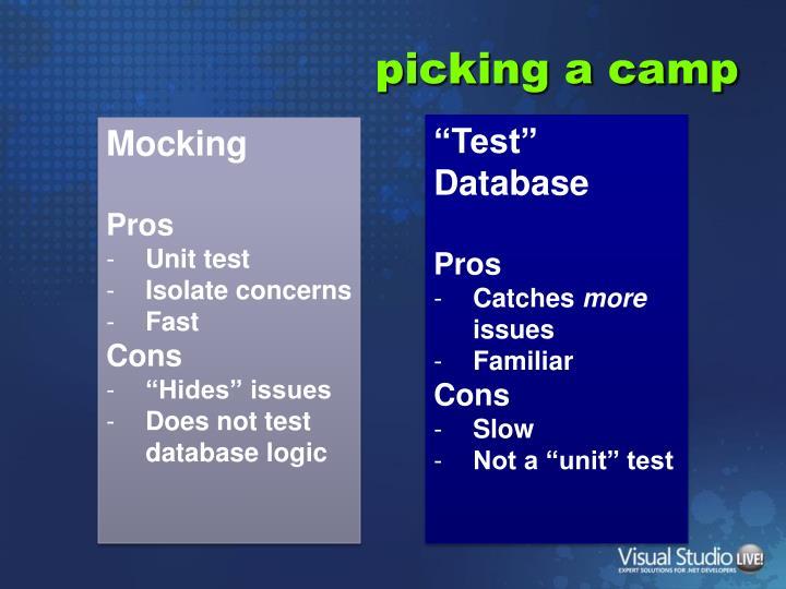 """""""Test"""" Database"""