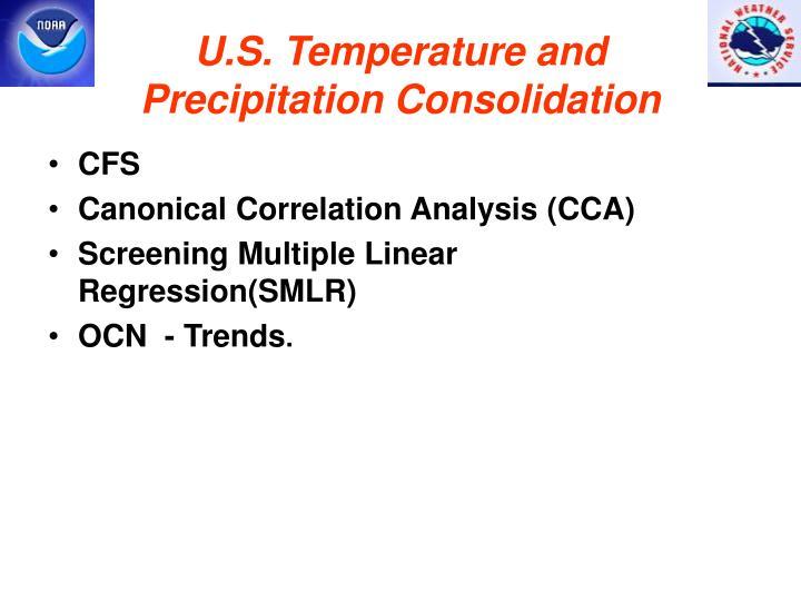 U.S. Temperature and