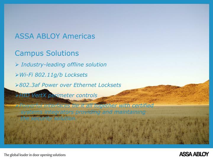 ASSA ABLOY Americas