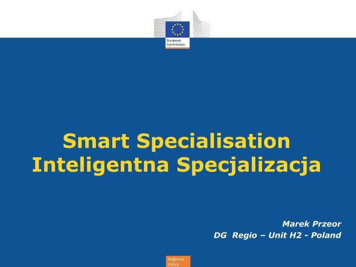 smart specialisation inteligentna specjalizacja n.