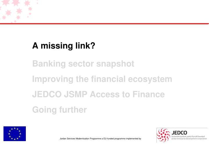 A missing link?