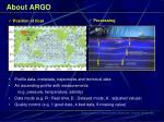 about argo