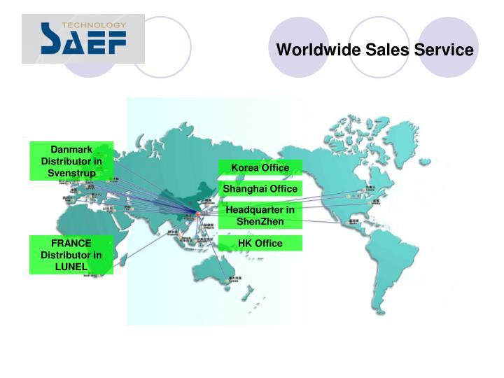 Worldwide Sales Service
