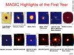 magic highlights of the first year