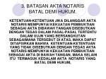 3 batasan akta notaris batal demi hukum