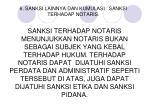 6 sanksi lainnya dan kumulasi sanksi terhadap notaris
