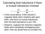 calculating total inductance if there is mutual inductance involved