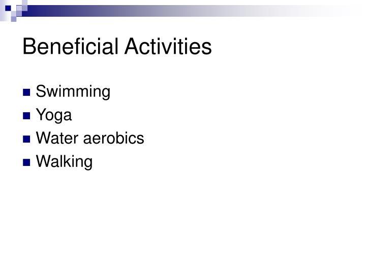 Beneficial Activities