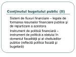 con inutul bugetului public ii