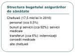 structura bugetului asigur rilor de s n tate1