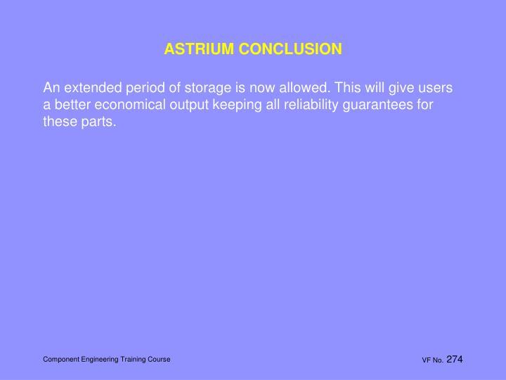 ASTRIUM CONCLUSION