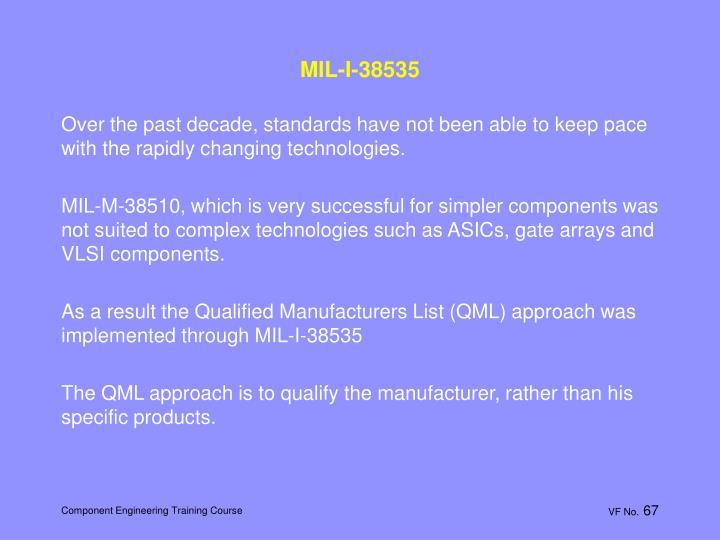 MIL-I-38535