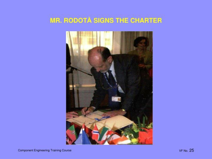 MR. RODOT