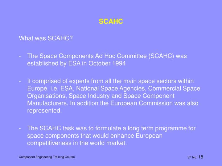 SCAHC