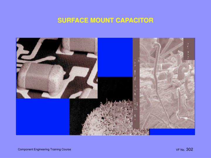 SURFACE MOUNT CAPACITOR