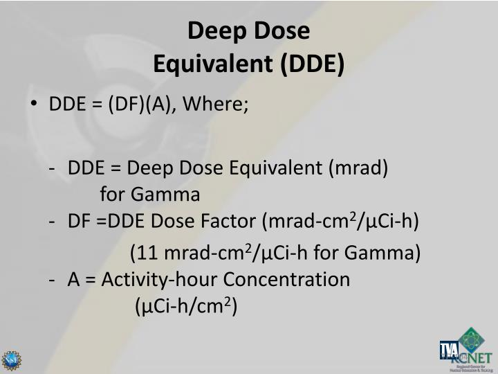 Deep Dose