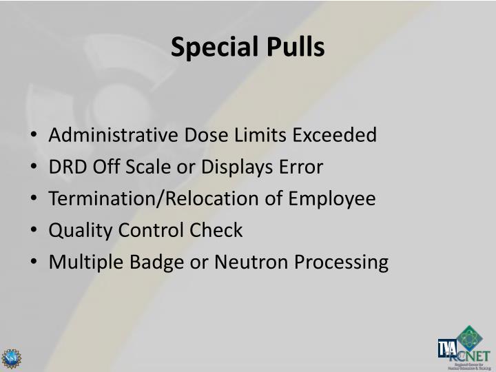 Special Pulls