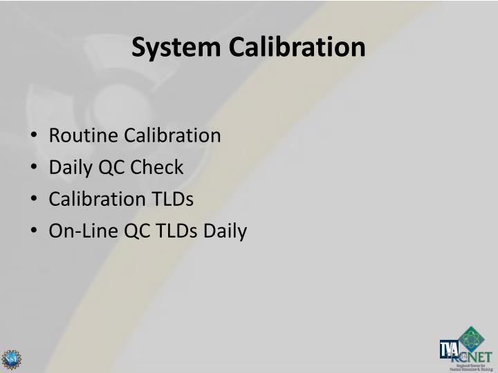 System Calibration