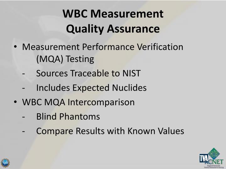 WBC Measurement
