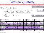 facts on y 2 banio 5
