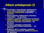 d len antidepresiv ii