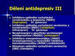 d len antidepresiv iii