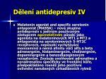 d len antidepresiv iv