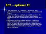 ect aplikace ii