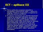 ect aplikace iii