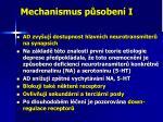 mechanismus p soben i