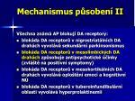 mechanismus p soben ii