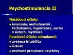 psychostimulancia ii