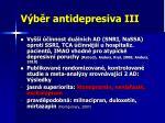 v b r antidepresiva iii
