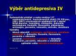 v b r antidepresiva iv