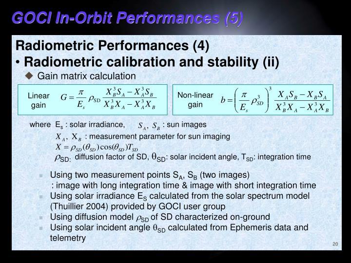 GOCI In-Orbit Performances (5)