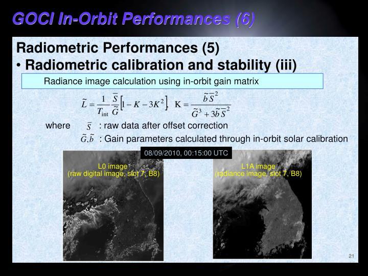 GOCI In-Orbit Performances (6)