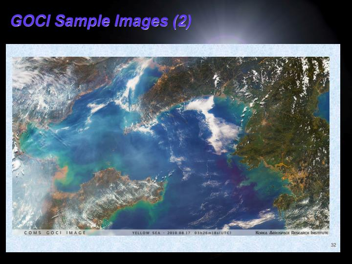 GOCI Sample Images (2)