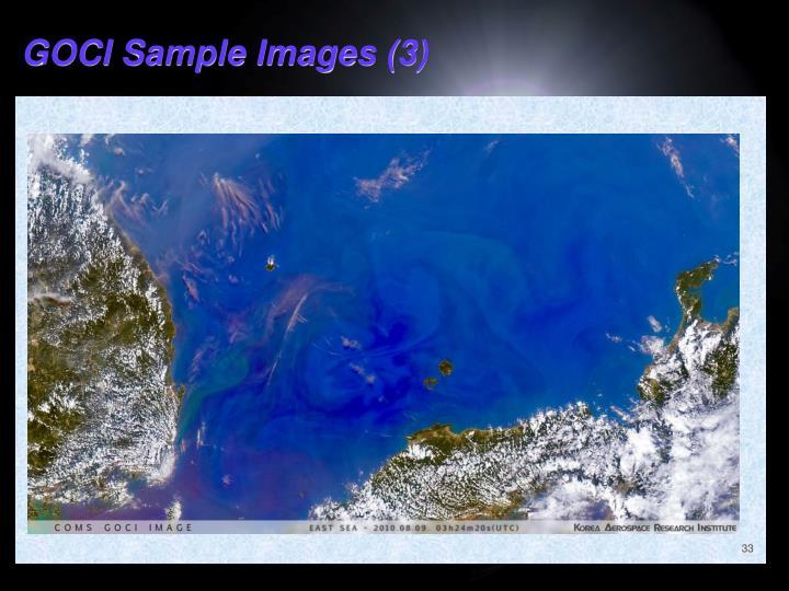 GOCI Sample Images (3)