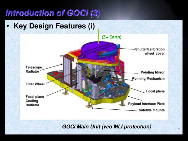 Introduction of GOCI (3)