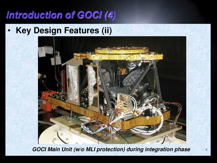 Introduction of GOCI (4)