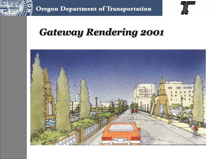 Gateway Rendering 2001