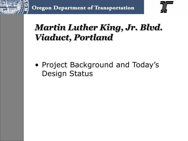 Martin luther king jr blvd viaduct portland