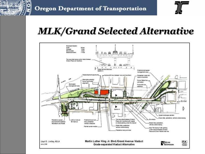 MLK/Grand Selected Alternative
