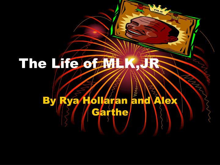 the life of mlk jr n.