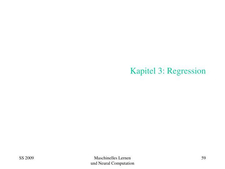 Kapitel 3 regression