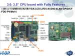 3 0 3 5 cpu board with fully features