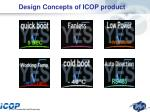 design concepts of icop product